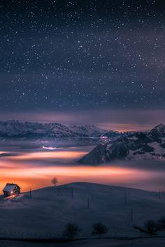 House Above the Clouds, Steinen, Canton of Schwyz, Switzerland byDavid Kaplan