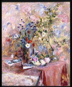 Edouard Vuillard - Flowers 1906