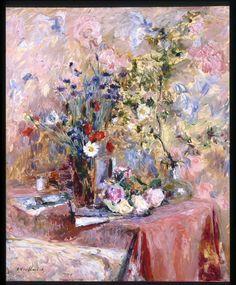 bofransson:    Edouard Vuillard - Flowers 1906