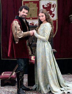 """Spanish TV series """"Isabel"""", Michelle Jenner, Rodolfo Sancho No es No me encajono para que la debería dinero d l"""