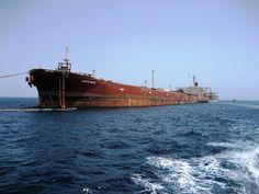 De grootste olietanker ter wereld