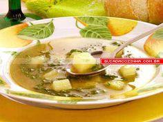 Receita de Sopa de couve