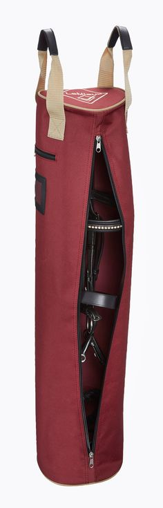 The Bridle Bag Burgundy - £18.95 : Horse Health, The finest Equestrian products in the UK.