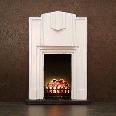 Art Deco fireplace from modollhouse.com £21.50