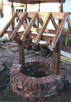 Traditional garden well reconstruction, Worcestershire | Brick & Bower Landscapes and construction