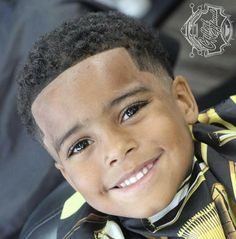 Cute Baby Boy Haircuts – The development of a baby, whether he is male or female is very dependent on the role of parents. Many examples that we can see, when her parents busy then what happens is the baby is not cared for properly. Lil Boy Haircuts, Little Black Boy Haircuts, Boys First Haircut, Boys Haircuts Curly Hair, Black Boy Hairstyles, Boys Fade Haircut, Little Black Boys, Baby Haircut, Black Baby Boys