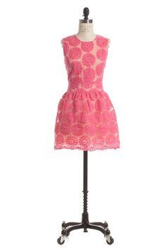 New Pink Mimosas Dress.... www.abelleboutique.com