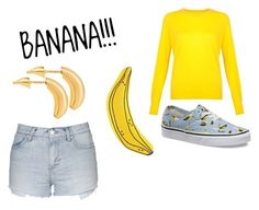 """""""Untitled #279"""" by cuteskyiscute ❤ liked on Polyvore featuring Vans, Topshop and Lee Renee"""