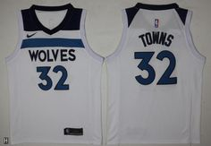 ed112e97960 #cheap basketball jerseys #jerseys NBA Minnesota Wolves Karl Anthony Towns  #32 Jerseys