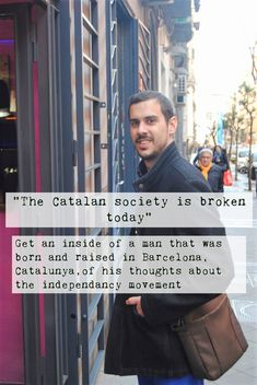 In my interview with a Spaniard from Barcelona, Catalunya, I found out more about the independancy movement and got some great insights and thoughts of his! Cultural Diversity, Insight, Barcelona, Spain, Interview, Culture, Thoughts, Sevilla Spain, Barcelona Spain