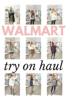 a369d66e8963 Fall outfits 2018 from Walmart  Trying on and styling 11 looks in this Walmart  try