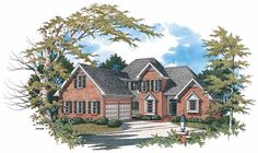 Eplans New American House Plan - Creates A Cozy Sense - 2009 Square Feet and 3 Bedrooms from Eplans - House Plan Code HWEPL01319