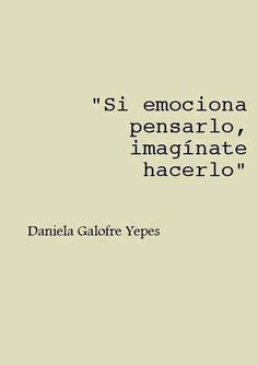 """""""If you tremble only by thinking about it, imagine to do it. Quotes For Him, Words Quotes, Wise Words, Love Quotes, Sayings, Viktor Frankl, Ex Amor, Flirty Quotes, Inspirational Phrases"""