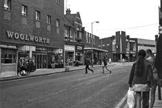 Worksop Woolworths 1971 Past, Buildings, Street View, Past Tense
