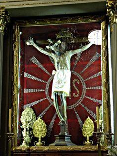 El Señor de la Sacristia, Catedral de Morelia, Michoacán, Mexico.