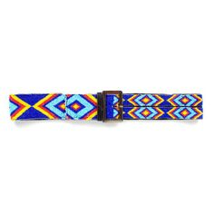 Beaded Belt Blue now featured on Fab.