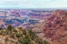 """The Grand Canyon is 277 miles long, gets up to 18 miles in width and reaches depths of over a mile."" #photography #hiking #Arizona #GrandCanyon   Touching Light Photography - johnbaileyphotoart.com"