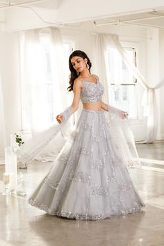 Indian Gowns Dresses, Indian Fashion Dresses, Dress Indian Style, Indian Designer Outfits, Bridal Dresses, Designer Dresses, Designer Wear, Wedding Lehenga Designs, Organza Bridal