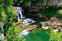 Cummins Falls State Park is a Hiking Area in Cookeville. Plan your road trip to Cummins Falls State Park in TN with Roadtrippers. Best Swimming, Swimming Holes, Places To Travel, Places To See, Travel Destinations, Camping Places, Cummins Falls State Park, Tennessee State Parks, Tn State