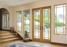 French patio doors. This company offers a screens for french doors.