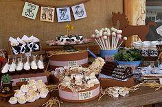 Cowboy birthday party