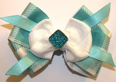 Teal Checkered $6