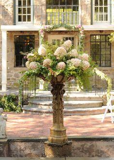 A Boho Secret Garden Wedding at HollyHedge Estate, Pennsylvania; Photo by @danamac475