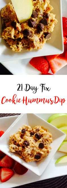 Cookie Hummus Dip {21 Day Fix}   Confessions of a Fit Foodie