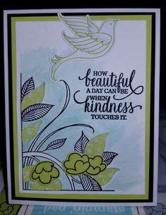 **New Serene Garden from Stampin' Up Card Design by Monica Van Tassel