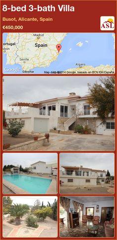 8-bed 3-bath Villa in Busot, Alicante, Spain ►€450,000 #PropertyForSaleInSpain