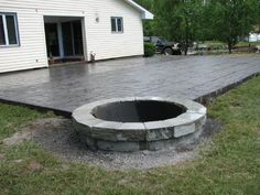 Bon Incredible Concrete Patio Ideas With Fire Pit Concrete Patio Designs  Layouts Design Decorating 823506 Patio