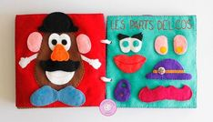 Diy Quiet Books, Felt Quiet Books, Felt Diy, Felt Crafts, Crafty Projects, Sewing Projects, Toddler Activities, Activities For Kids, Baby Shower Deco