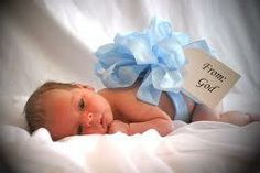 From God, going to buy ribbon tomorrow for Landon's baby portraits :)