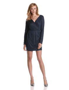 Bcbgeneration Women's Surplus Back Cutout Dress, Blue Night, X-small