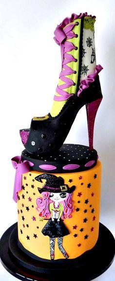 Sassy Witch Cake