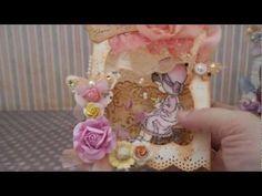 3-d box cards    Tea Garden Shadow Box Cards