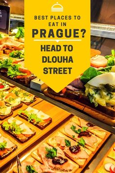 Best Places to Eat in Prague? Head to Dlouha Street Best places to eat in Prague? Head to Dlouha Street. Backpacking Europe, Europe Travel Guide, Travel Destinations, Budapest, Prague Food, Prague City, Prague Travel, Rome Travel, Prague Czech Republic