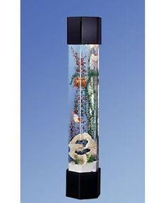 Tucker Murphy™ Pet Alan 20 Gallon Tower Square Aquarium Tank | Wayfair Aquariums For Sale, Amazing Aquariums, Tanked Aquariums, Aquarium Kit, Aquarium Fish Tank, Fish Tanks, Aquarium Ideas, 75 Gallon Aquarium Stand, Aquariums