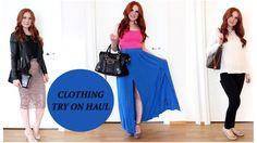 Clothing Try On Haul | Zalando, Topshop, Dorothy Perkins, Guess