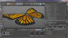 Cinema Tutorial on CMotion, Cineware, After Effects, Particular by Joe Herman Cinema 4d Tutorial, Butterfly, Creative, Bones, Youtube, Magic, Motion Graphics, Animation, Videos