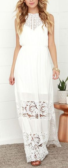 halter lace dress. Would love this in another color