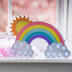 Are you interested in our Rainbow And Cloud LED Light? With our NURSERY NIGHT LIGHT FREE DELIVERY you need look no further.