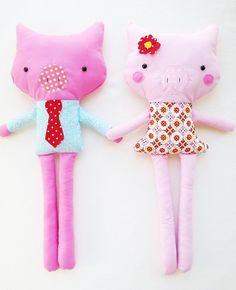 Make little cute dolls