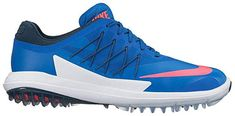 Lunarlon midsole inserts in these womens lunar control vapor golf shoes by Nike offer lightweight, low-profile cushioning! Nike Womens Golf, Womens Golf Shoes, Nike Golf, Nike Shoes, Sneakers Nike, Nike Lunar, Best Player, Golf Outfit, Ladies Golf