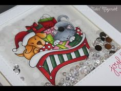 ▶ Newton's Nook Deck The Halls With Inky Paws Guest Designer | Joyful Tidings - YouTube Nichol Magouirk December 2014
