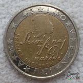 2 Euro SL 2007 Euro Coins, Gold Money, World Coins, New Years Eve Party, Coin Collecting, Slovenia, Personalized Items, Creativity, Europe