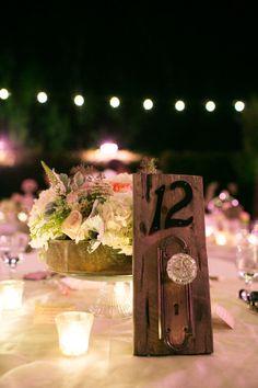 small hints of disney throughout the wedding...alice in wonderland doorknobs..... cute
