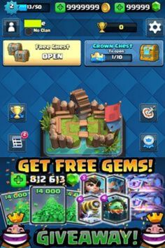 But have you found a means of extracting a huge amount of gems and gold through the Clash Royale hack generator? This engine will teach you more concerning Clash Royale Hack and how it's used. Clash Royale is really an impressive battle game that you'll love to play very much.  Clash Royale can be free to download and have fun with, however, some video game items can also be purchased though there are back door alternatives to hack clash royale for cool resources. Clash Of Clans Hack, Clash Of Clans Gems, Gift Cards Money, Get Gift Cards, Clash Royale, Gem Online, Royale Game, Battle Games, Some Games
