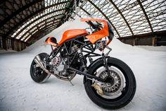 "Ducati 900 SS ""Di Fazio"" by Bernard Mont"