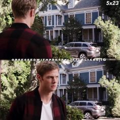 """#PLL 5x23 """"The Melody Lingers On"""" - Andrew at Mona house."""